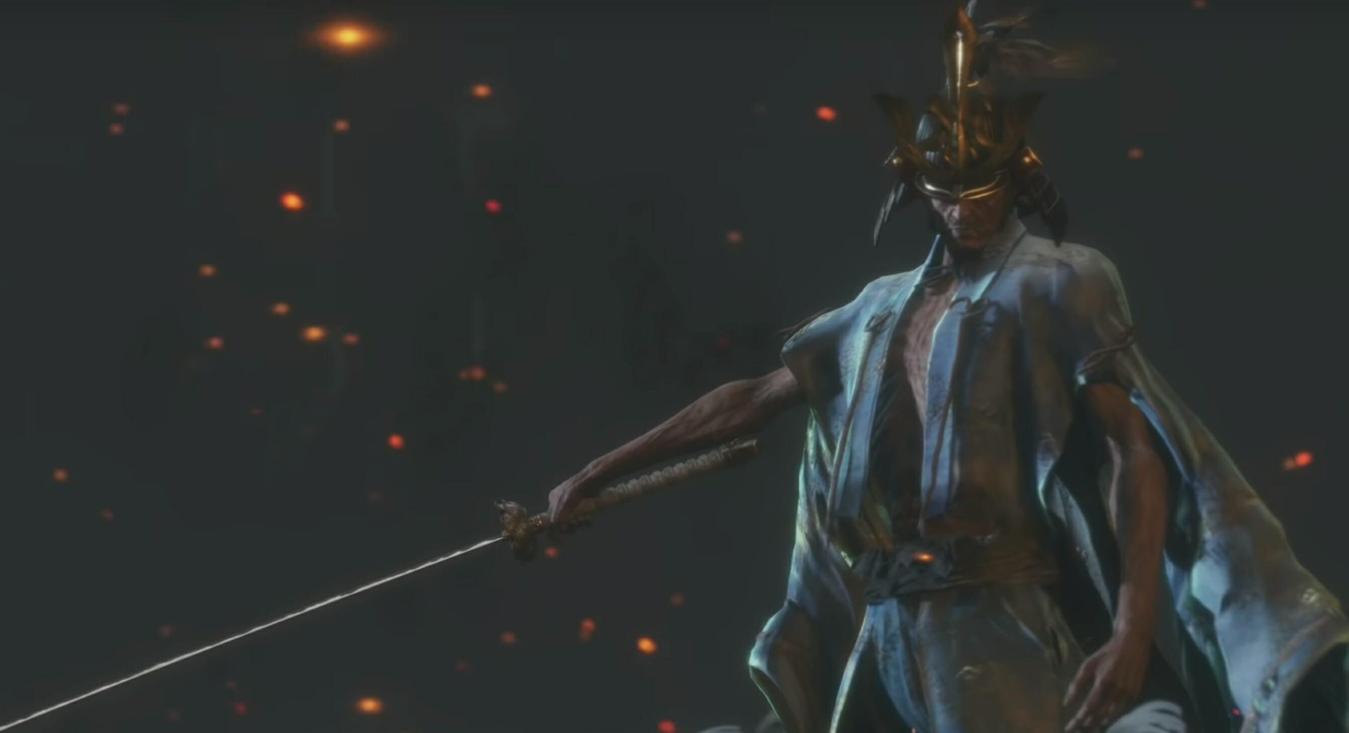 Sekiro best bosses Isshin the Sword Saint