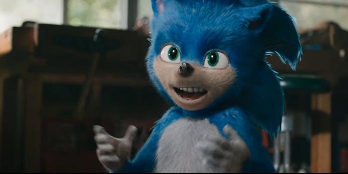 Sonic hedgehog teeth