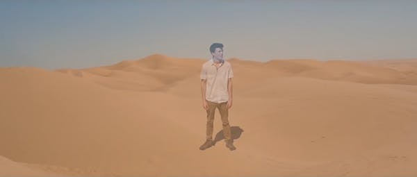 Tinder video desert
