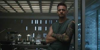 avengers endgame hawkeye tattoo