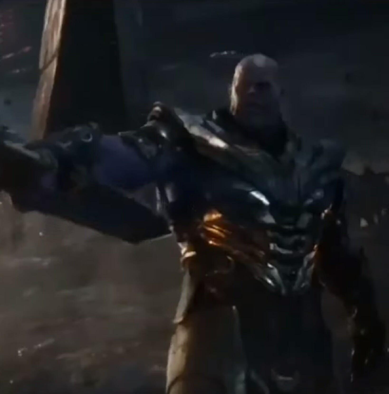 avengers endgame spoilers thanos sword