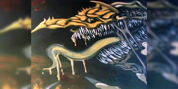 chilling adventures of sabrina copied art