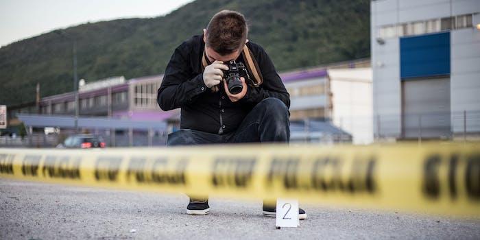 crime scene photographer