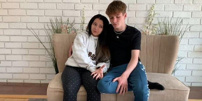 Danielle Cohn Mikey Tua pregnancy prank YouTube