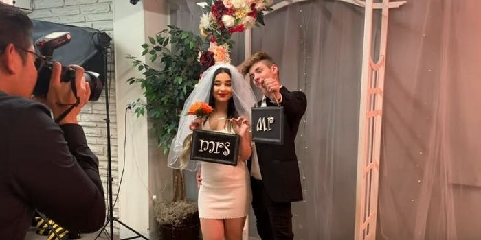Danielle Cohn YouTube pregnant prank married