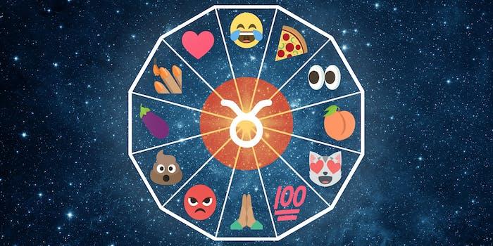 emoji horoscope taurus