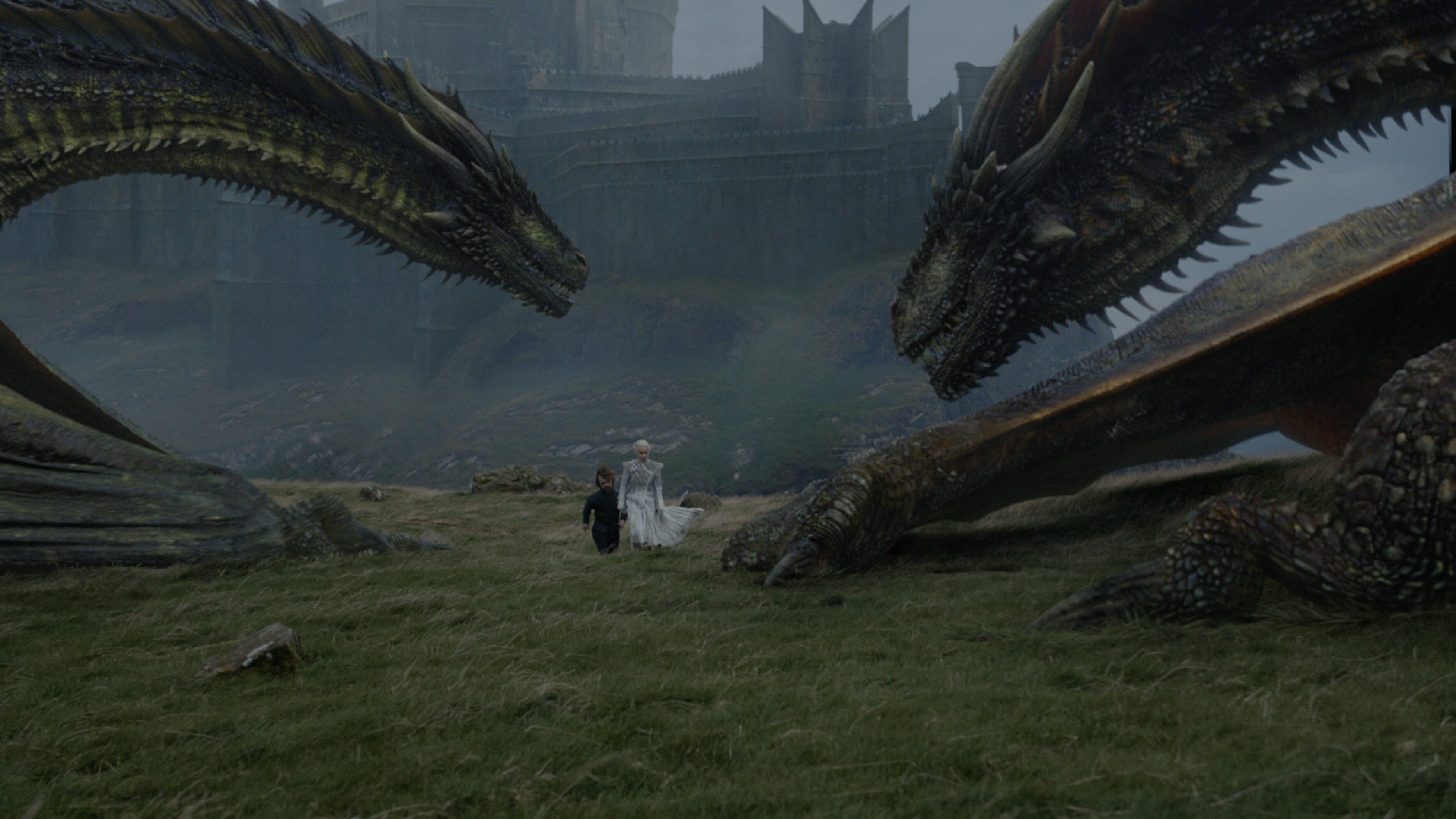 game of thrones daenerys tyrion dragons