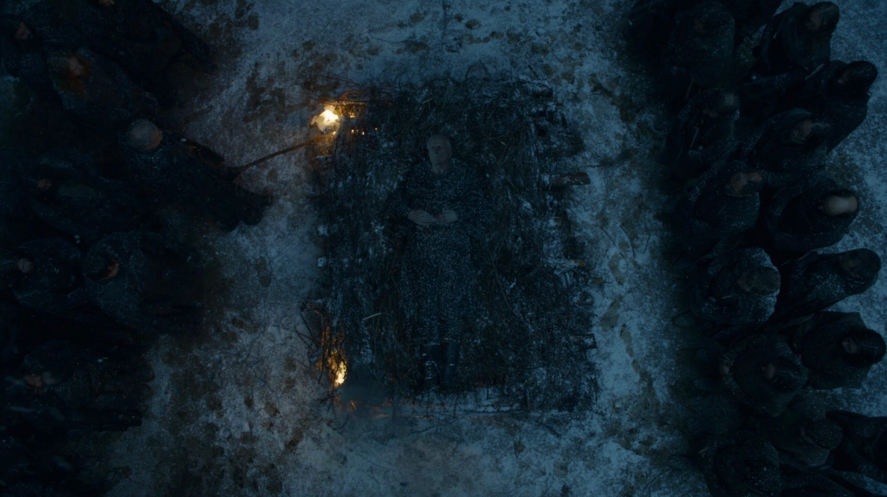 game of thrones night's watch burial maester aemon