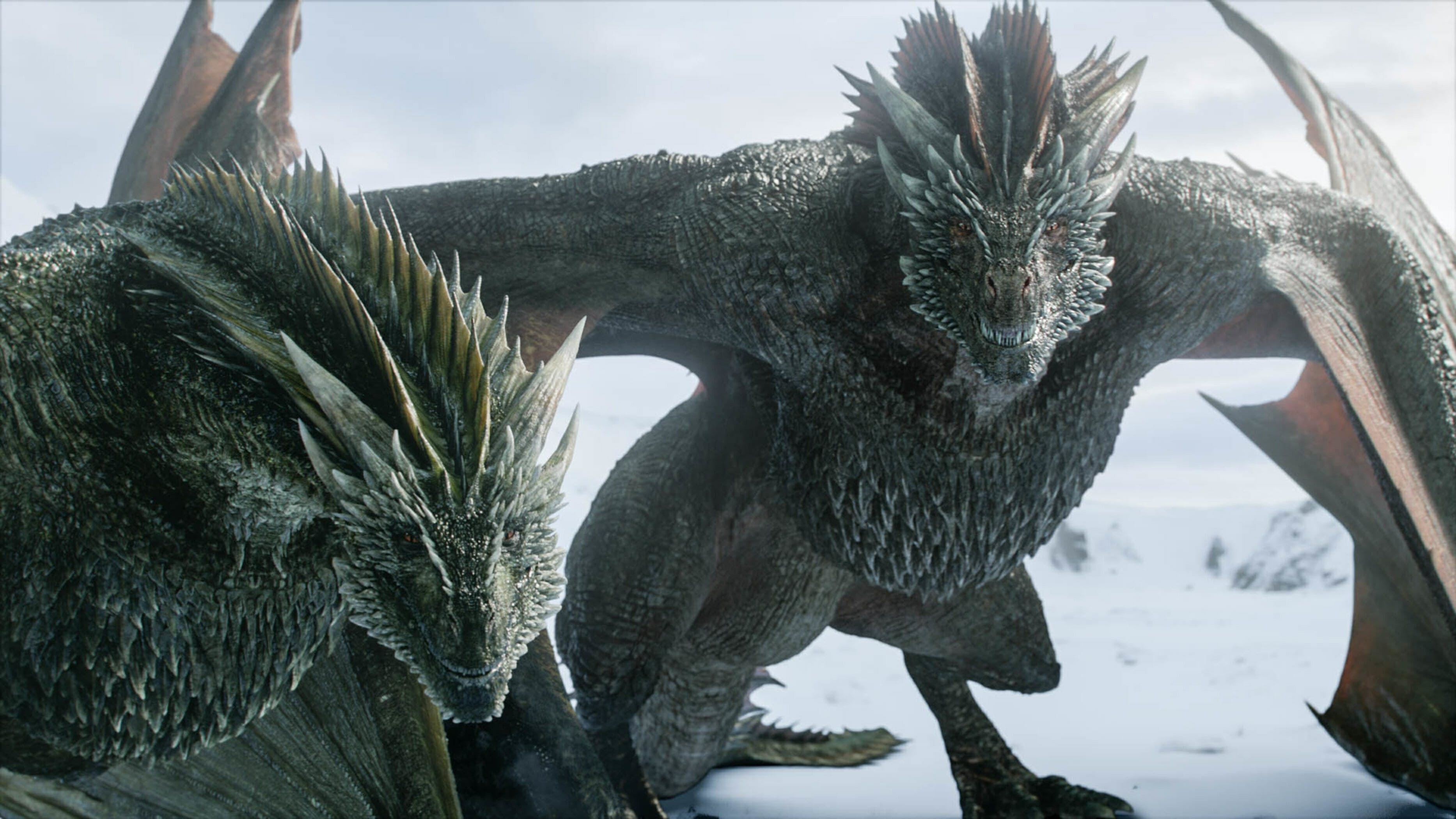 game of thrones rhaegal and drogon