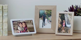 how to turn google home hub into a digital photo frame