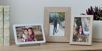 how to turn google home hub into a digital photo frame