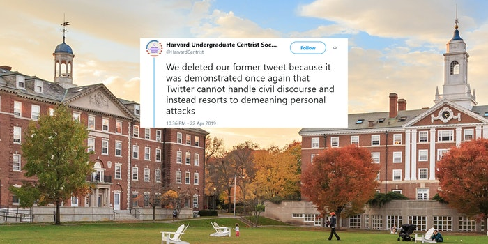 harvard centrists