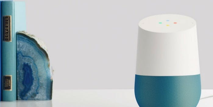 how to use google home as an intercom