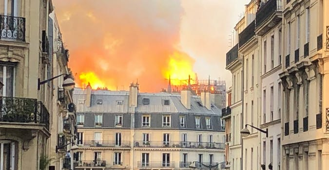 nore dame fire conspiracy theories