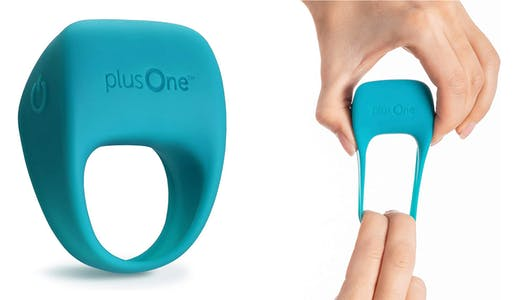 The plusOne vibrating ring