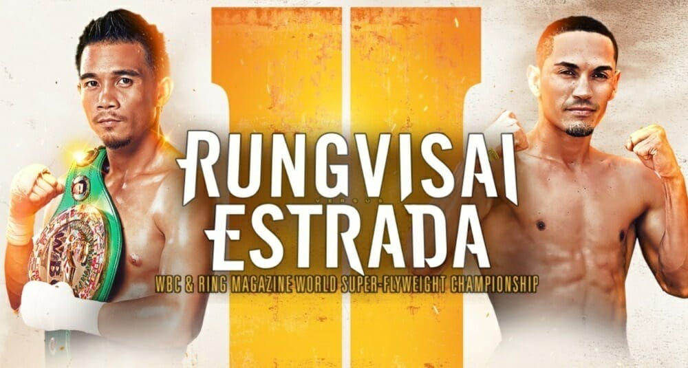 Rungvisai vs Estrada live stream DAZN