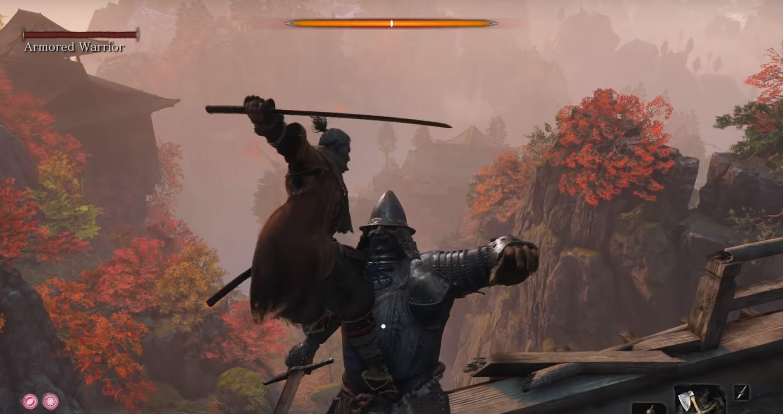top sekiro bosses armored warrior
