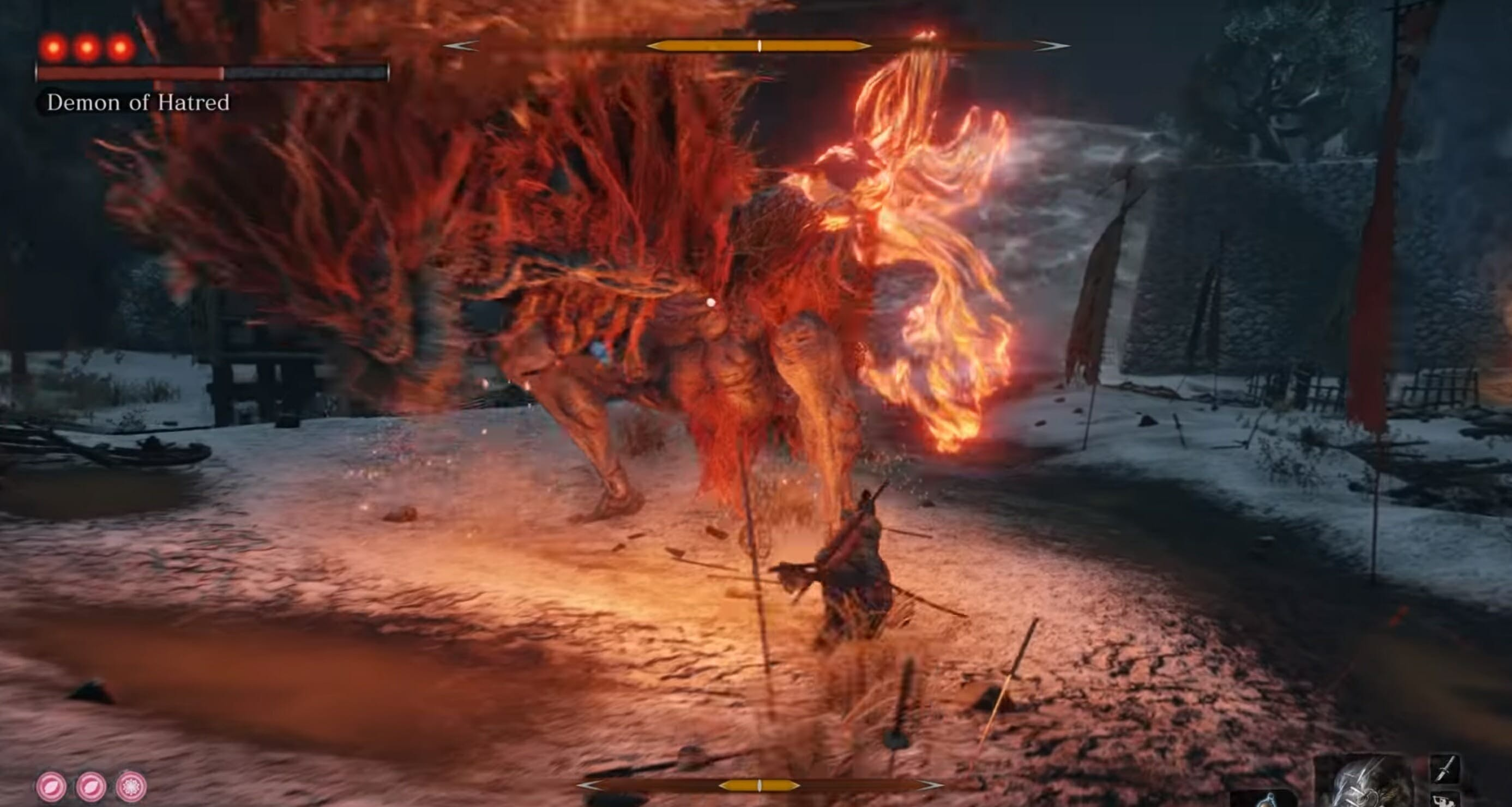 top sekiro bosses demon of hatred