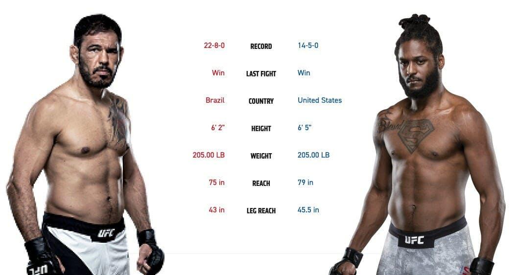 ufc 237 Antônio Rogério Nogueira vs. Ryan Spann