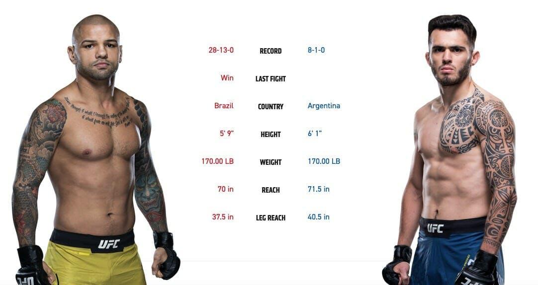 ufc 237 card Thiago Alves vs. Lauren Staropoli