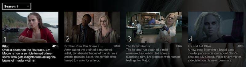 watch izombie season 5 online free on Netflix