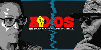 ADOS founder Yvette Carnell and ADOS critic Talib Kweli