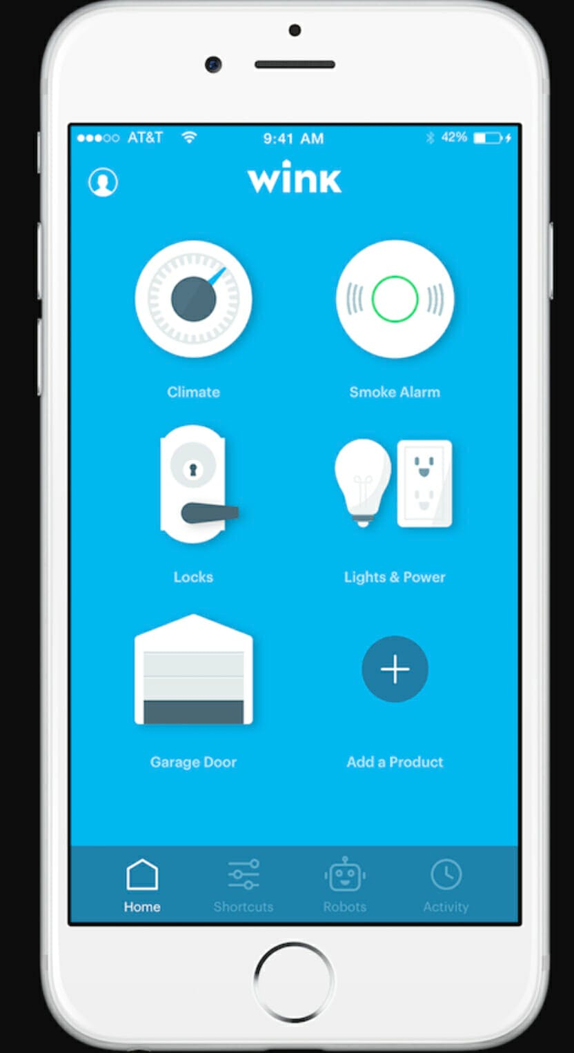 what is a smart home hub - wink