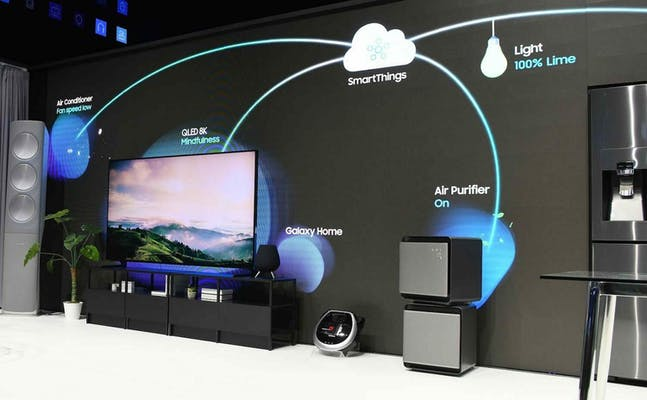 what is smartthings - bixby smart tv