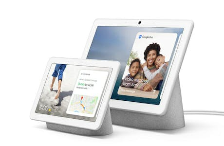 Google Nest Hub Max size comparison