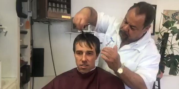 Beto O'Rourke Haircut