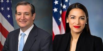 ocasio-cortez-cruz-lobbyists
