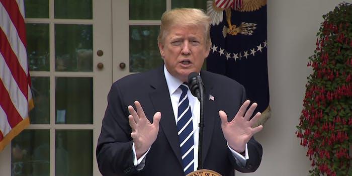 Donald Trump Notes Accomplishments