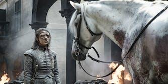 Game of Thrones - Arya horse
