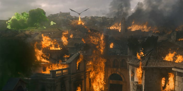 Game of Thrones - green fire