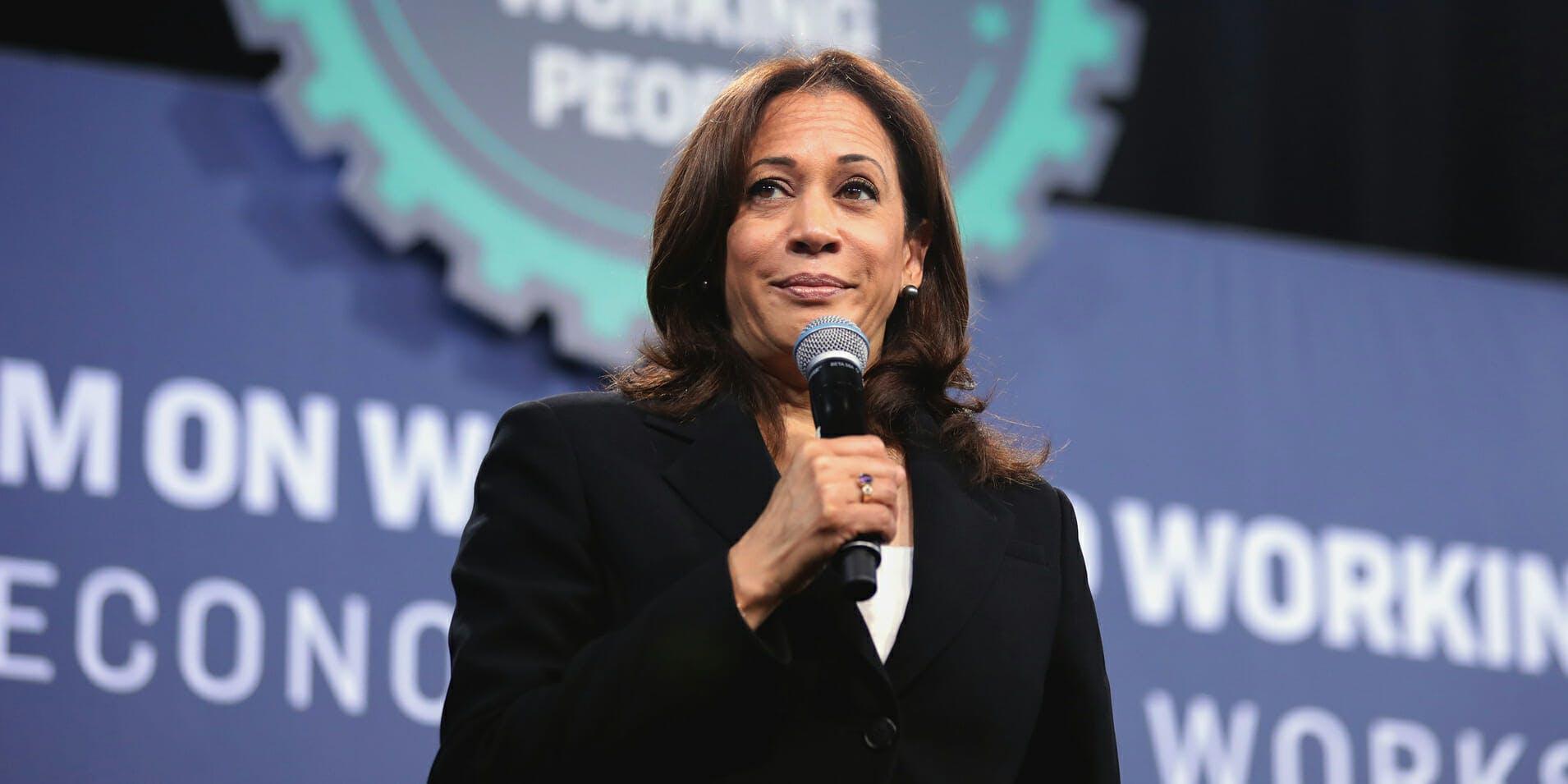 Kamala Harris Joe Biden Shade Vice President