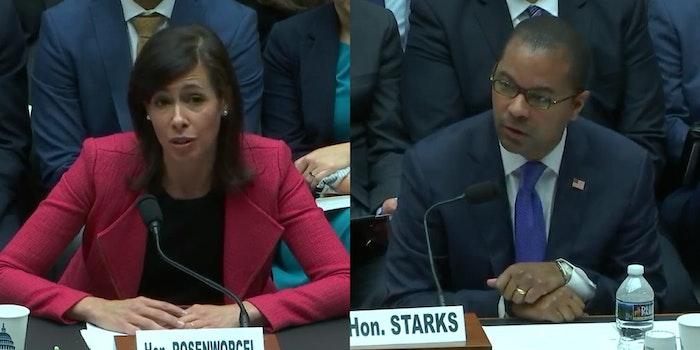Net Neutrality FCC Oversight Rosenworcel Starks