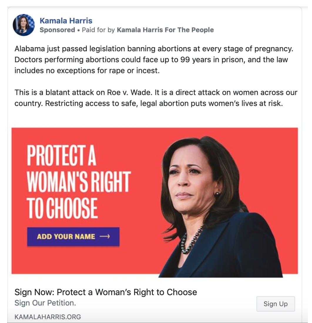 alabama abortion law 2020 democrats