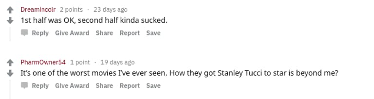 The Silence comments Reddit