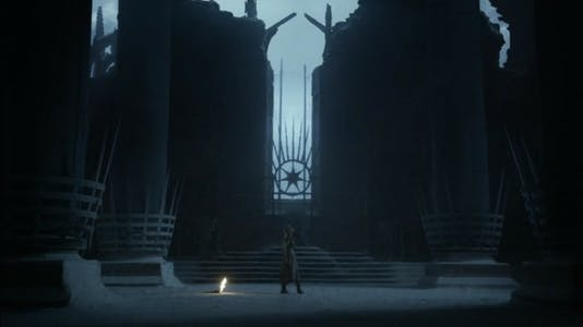 Game of Thrones - Dany vision ash?