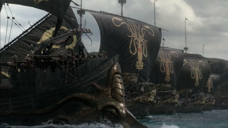 Game of Thrones armies - Euron Iron Fleet