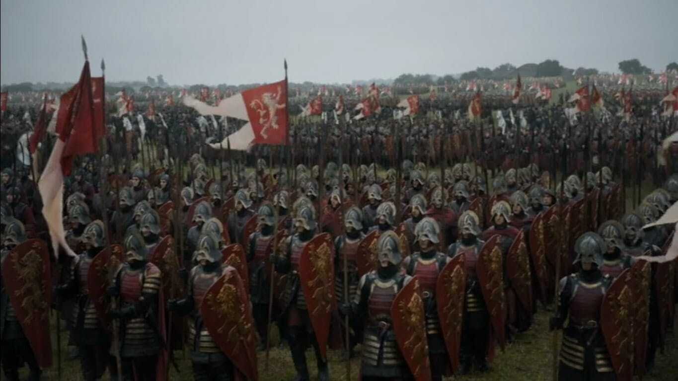 Game of Thrones armies - Lannister