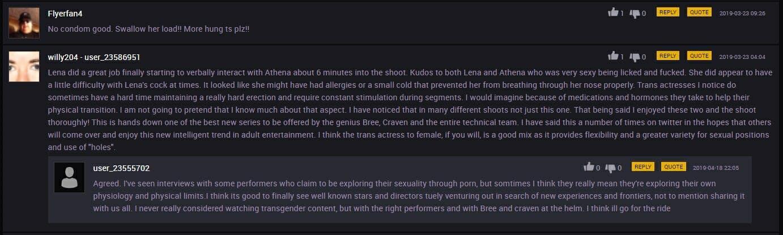 Transfixed Comments Men