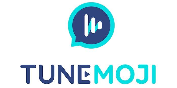 TuneMoji logo white