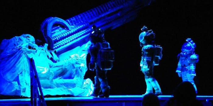 alien stage play high school