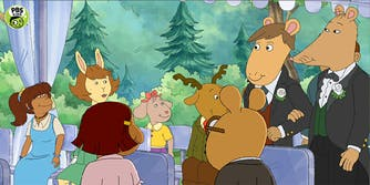 Mr. Ratburn from 'Arthur' came out as gay and married a man in the show's season 22 premiere.