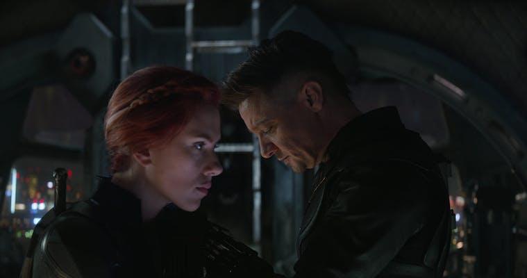 avengers endgame black widow