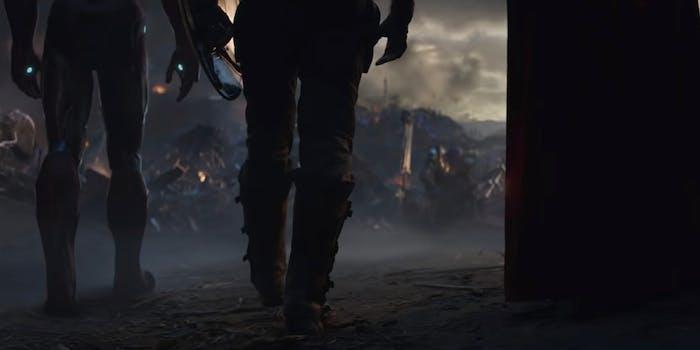 avengers endgame final moments