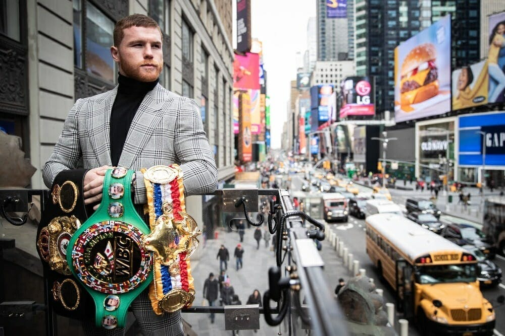 Canelo vs Jacobs live stream how to watch dazn