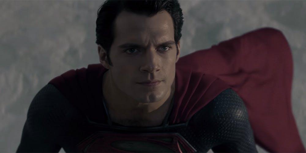 DC movies order - man of steel