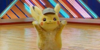detective pikachu dancing meme